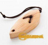 Case for altai jew's harp  leaf